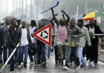 Immigrati Protesta