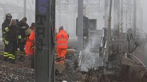 Incendio Ferroviario
