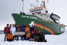 Greenpeace Arcticsunrise