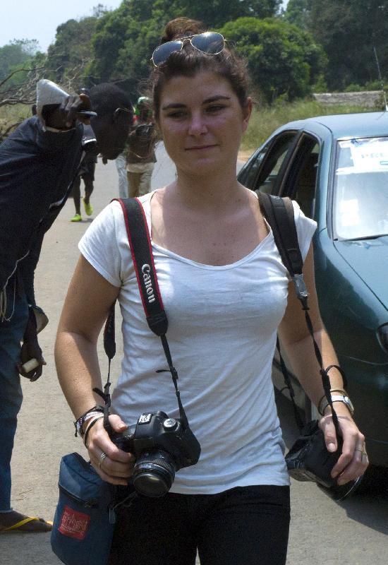 Fotoreporter Francese Uccisa