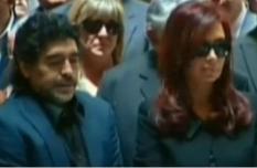 Kirchner Maradona Funerali