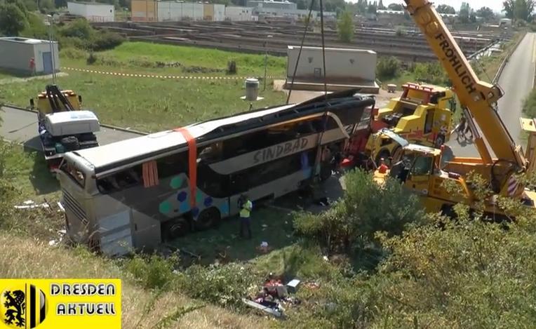 Bus Scontro Dresda