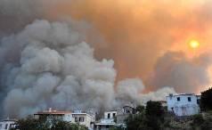 Incendio Evia