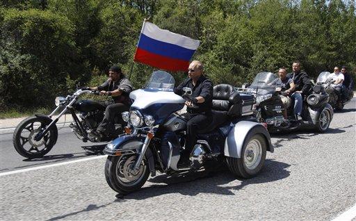 Putin Harley1