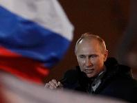 Putin Vittoria2012 Lacrime