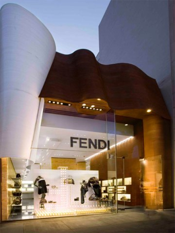 Boutique Fendi di Peter Marino