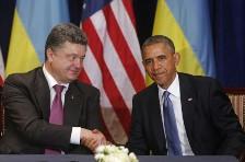Obama Poroshenko
