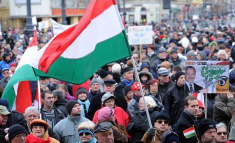 Protesta Ungheria