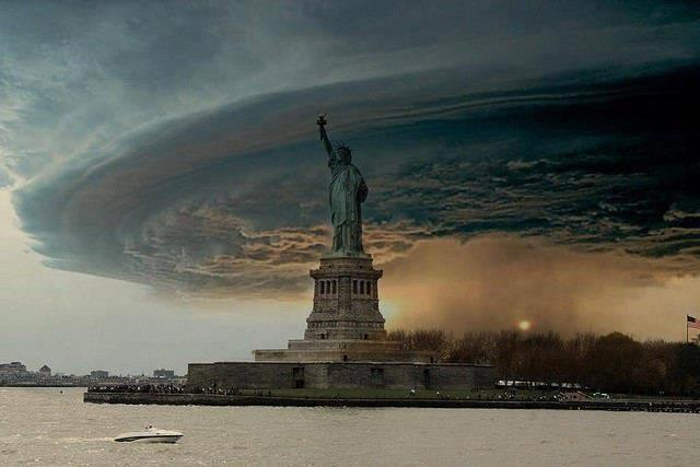 Uragano Sandy New York
