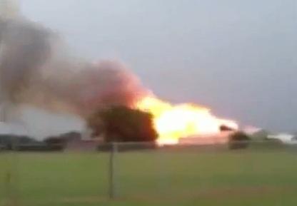 Waco Fertilizzanti Esplosione