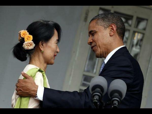 Obama In Birmania