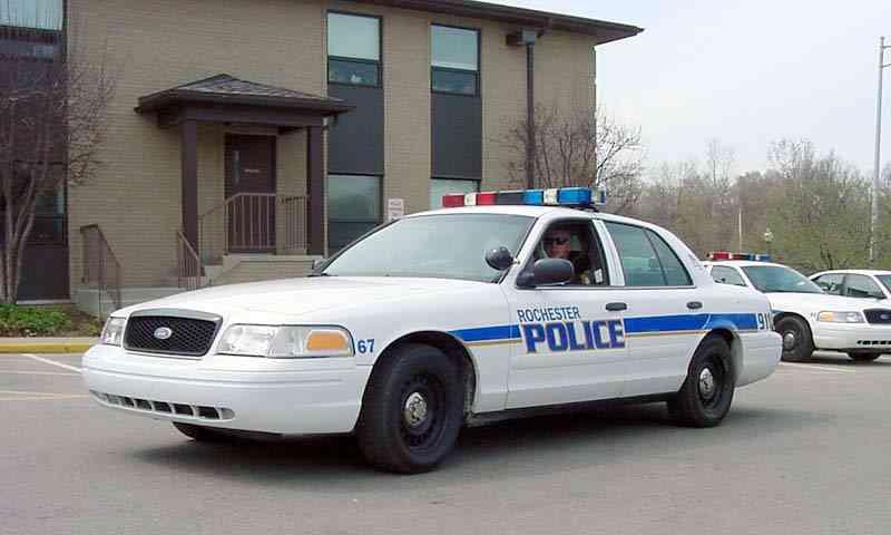 Macchina Polizia