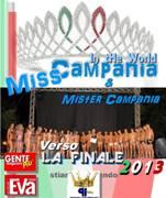 Miss E  Mister Campania 2013
