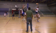 Volleyball In Azione