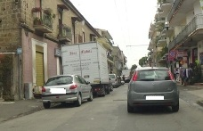 Auto In Sosta Nelle Strisce Blu