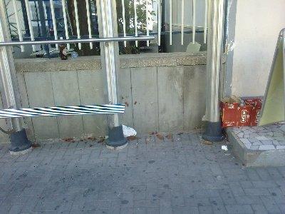 Metro Panchina Ripulita