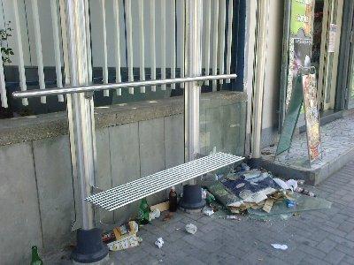 Metro Panchina Sporca