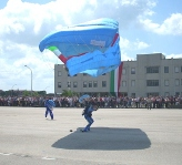 Atterraggio Paracadutisti