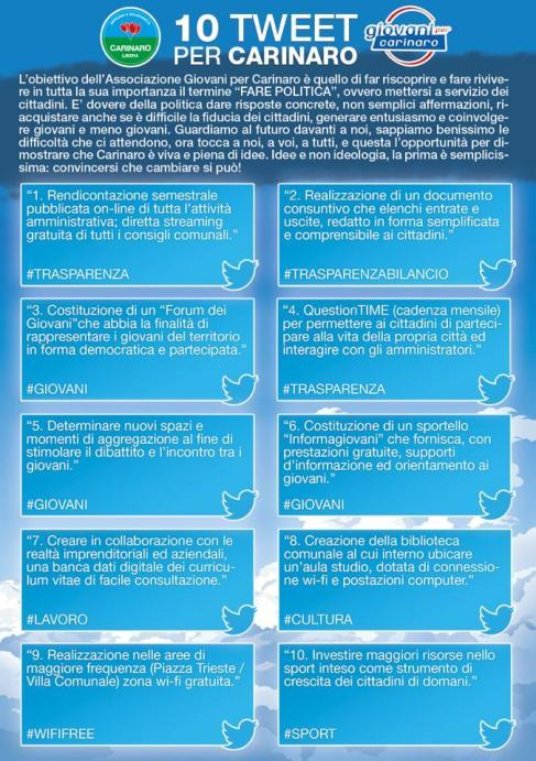 Tweet Giovani