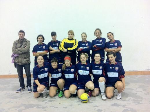 Vincitori Torneo Calcio A 5 Femminile