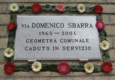 Via Domenico Sbarra