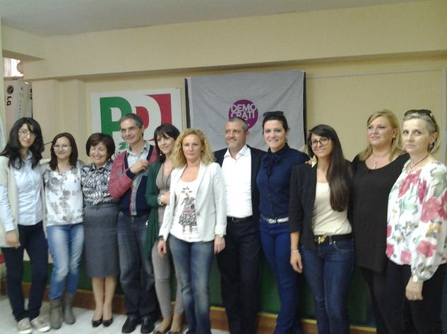 Donne Pd  Amministrative 2013