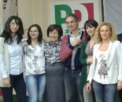 Donne Pd  Amministrative 2013 2