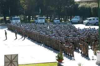 Brigata Garibaldi In Partenza Per Libano