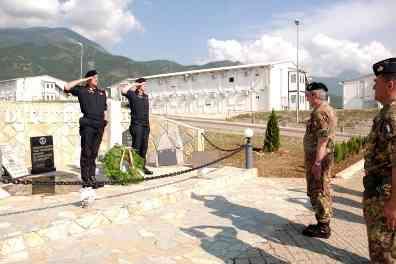 Generale Biancafarina Rende Omaggio Caduti Kosovo