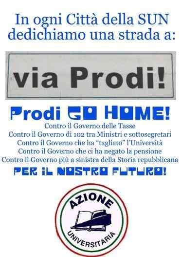 Volantino Via Prodi