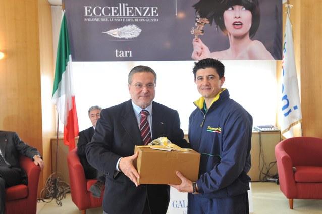 Talento Consigliere Nazionale Coni Premia Lucio Maurino