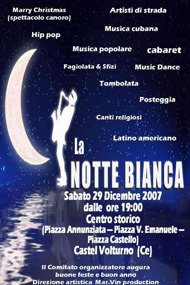 Manifesto Notte Bianca 2007