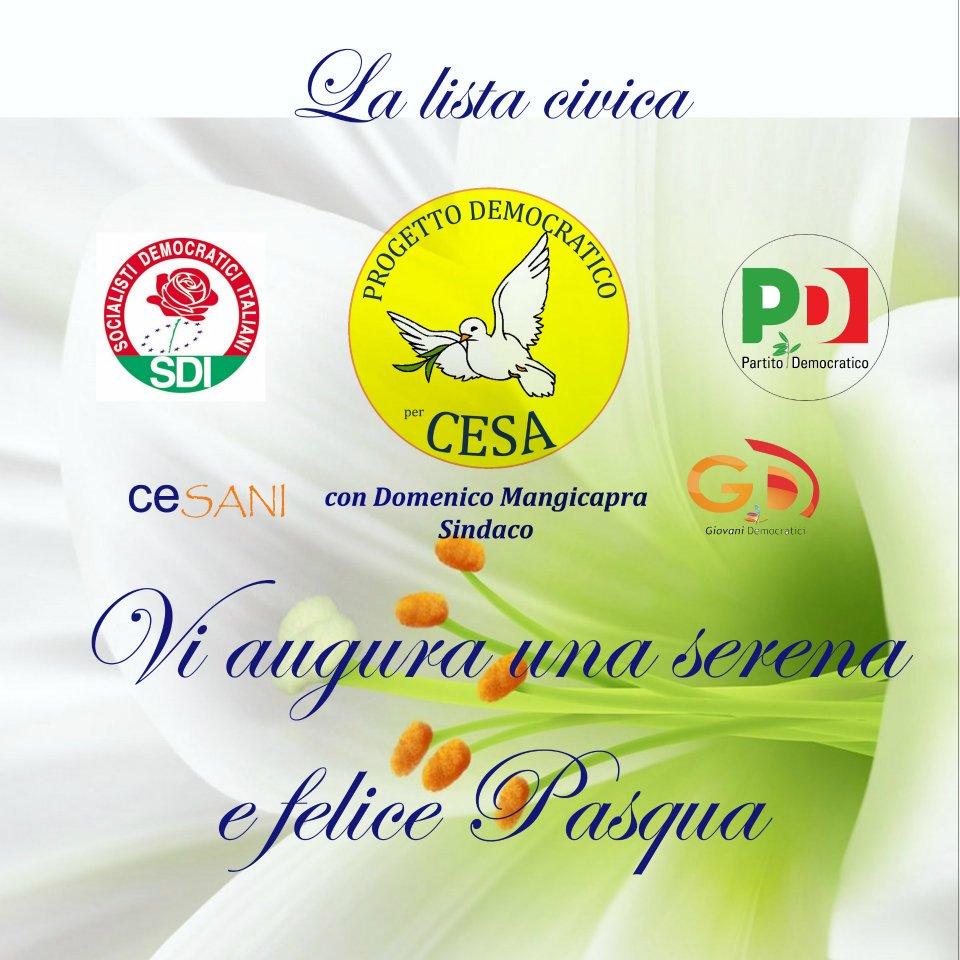 Auguri Progetto Democratico Per Cesa