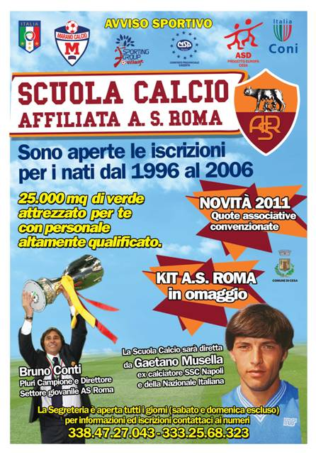Sporting Cesa Locandina2011