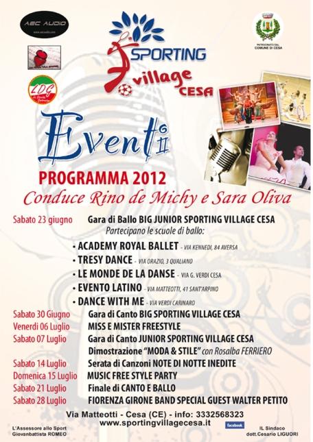 Eventi 2012