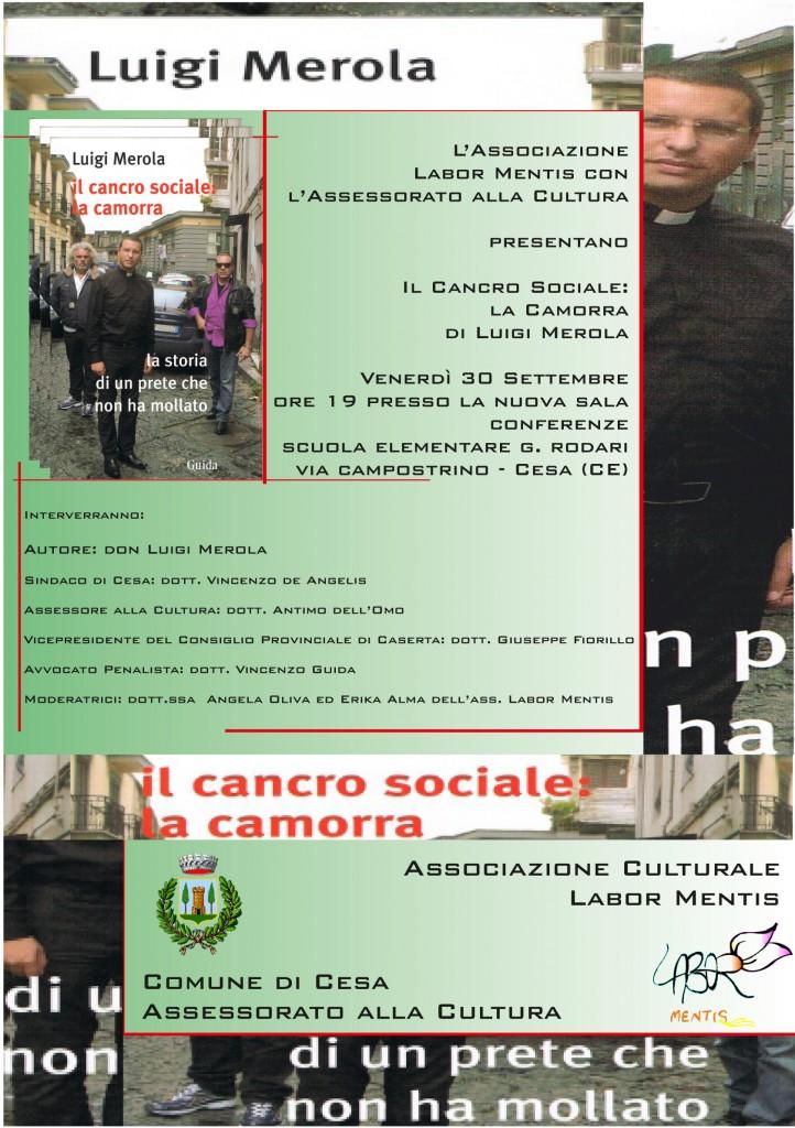 Manifesto Luigi Merola