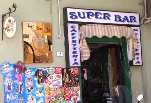 il super bar Di Ronza