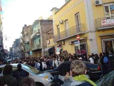 Parte Studenti Piazza Ferraro