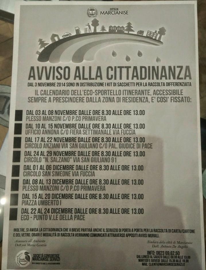 Manifesto Ecosportello