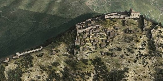 Castello Mondragone 3d
