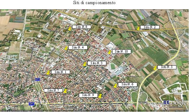 Mappa Inquinamento