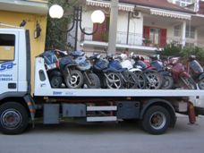 i 12 scooter sequestrati