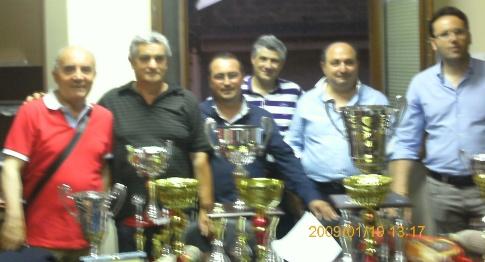 Premiazione 2012
