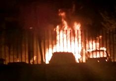 Incendio Parcheggio Viapezzella