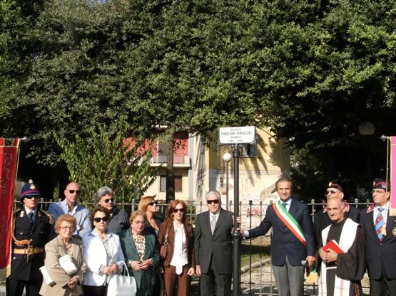 Intitolazione Piazza Fossataro