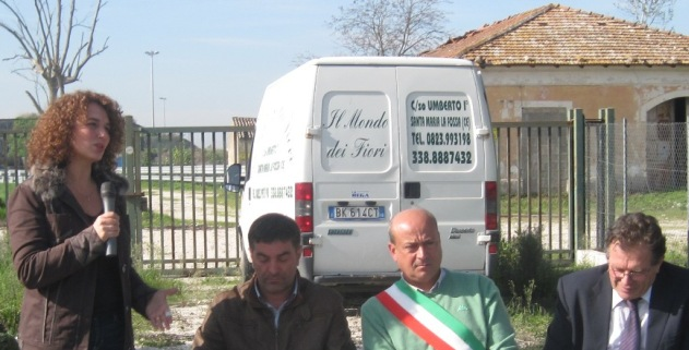 Smlf Lintervento Del Cons Reg Lucia Esposito Allingresso Della Megadiscarica
