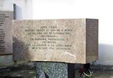 Monumento 39 Vittime 22 Ottobre 43
