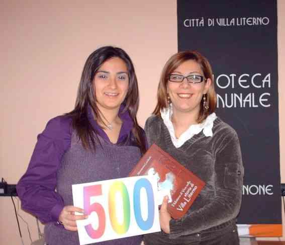 Biblioteca Villa Literno  Miss 500