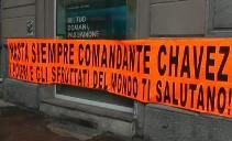 Chavez Striscione
