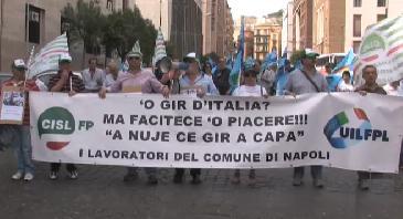 Giro Italia Protesta